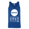 Multi-Tasking Dispatcher - Canvas Unisex Tank