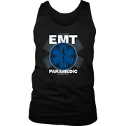 Image of EMT Paramedic Distressed - Soft District Mens Tank