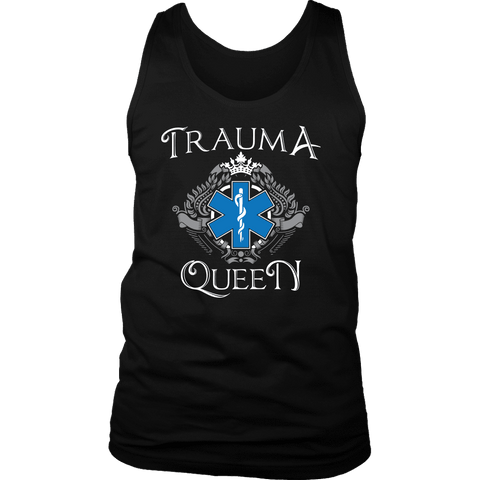 Image of Trauma Queen - Soft District Mens Tank