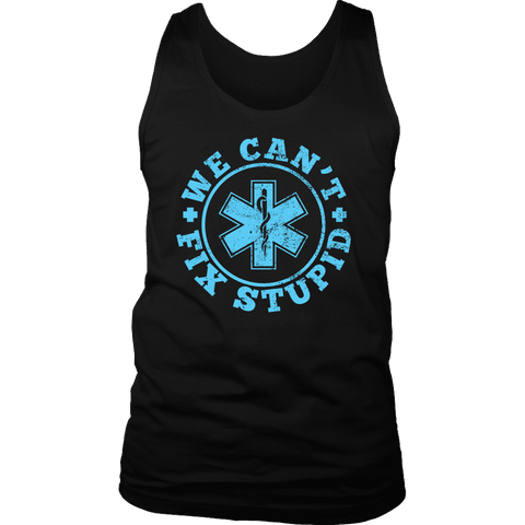 Image of We Can't Fix Stupid - Soft District Mens Tank