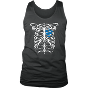 Image of EMT Heart In Ribcage - Soft District Mens Tank