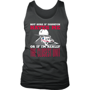 Image of Not Sure Of Dispatch Hates Me - Soft District Mens Tank