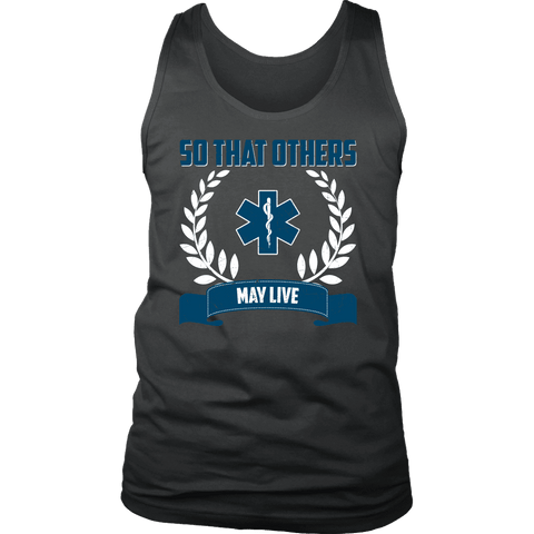So That Others May Live - Soft District Mens Tank