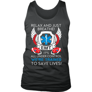 Trained To Save Lives - Soft District Mens Tank