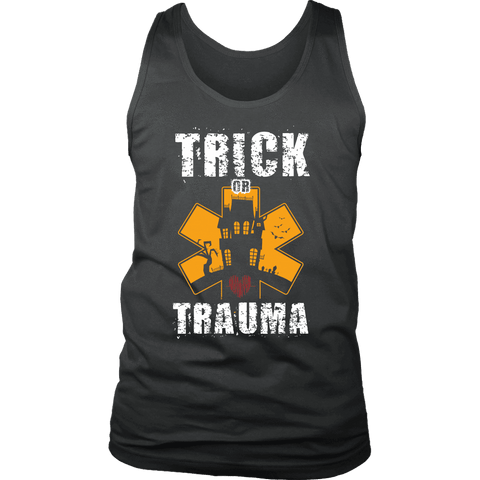 Trick Or Trauma - Soft District Mens Tank