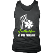 Image of We Race The Reaper-BACK - Soft District Mens Tank