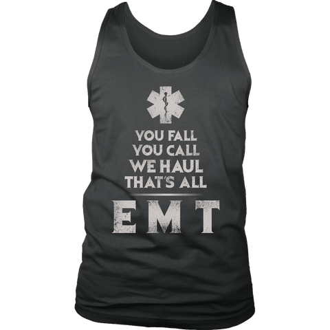 You Fall You Call - Soft District Mens Tank