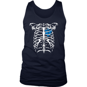 EMT Heart In Ribcage - Soft District Mens Tank
