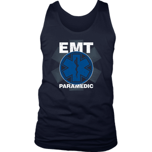 EMT Paramedic Distressed - Soft District Mens Tank