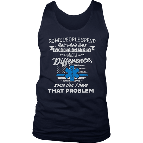 Some People Spend Their Whole Lives - Soft District Mens Tank