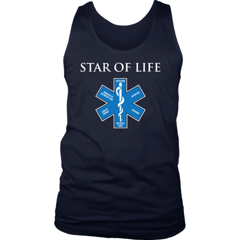 Star Of Life - Soft District Mens Tank