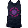 Tough Girls Saves Lives - Soft District Mens Tank