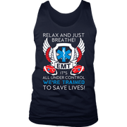 Image of Trained To Save Lives - Soft District Mens Tank