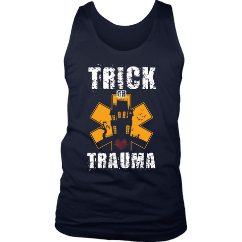 Image of Trick Or Trauma - Soft District Mens Tank