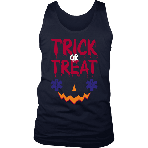 Trick Or Treat EMT - Soft District Mens Tank