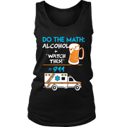 Image of Alcohol + Watch This - Soft District Womens Tank
