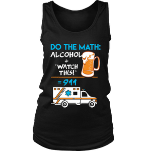 Alcohol + Watch This - Soft District Womens Tank