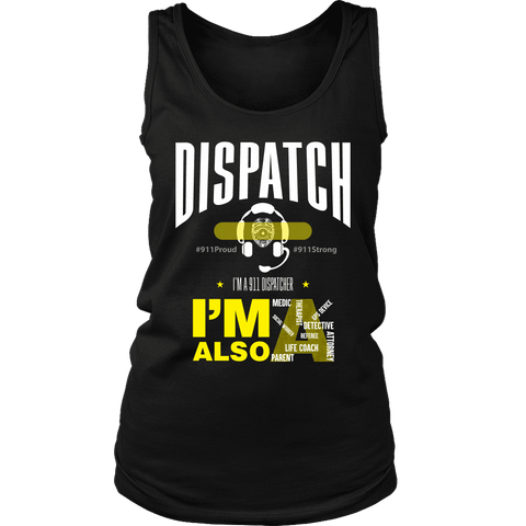 Image of Dispatch - Soft District Womens Tank