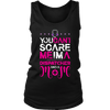 You Can't scare me I'm a Dispatcher and a mom - Soft District Womens Tank