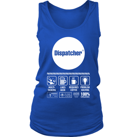 Image of Multi-Tasking Dispatcher - Soft District Womens Tank
