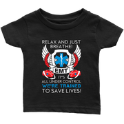 Image of Trained To Save Lives - Soft Infant T-Shirt