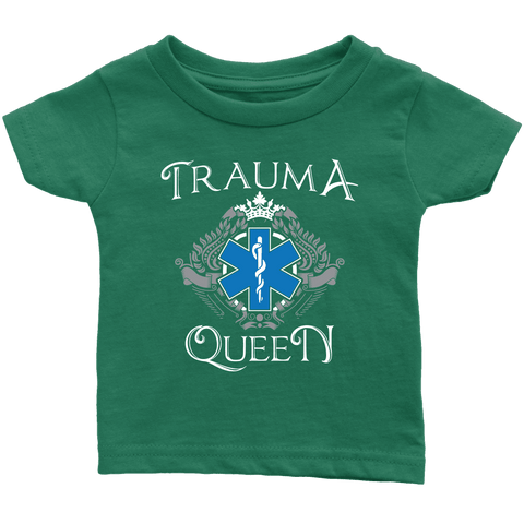 Image of Trauma Queen - Soft Infant T-Shirt