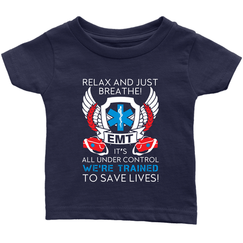 Trained To Save Lives - Soft Infant T-Shirt