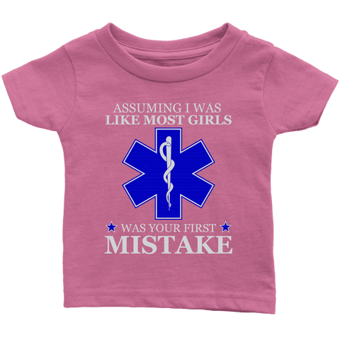 Your First Mistake - Soft Infant T-Shirt