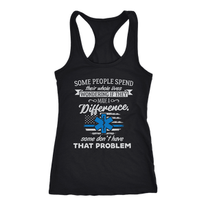 Some People Spend Their Whole Lives - Next Level Racerback Tank
