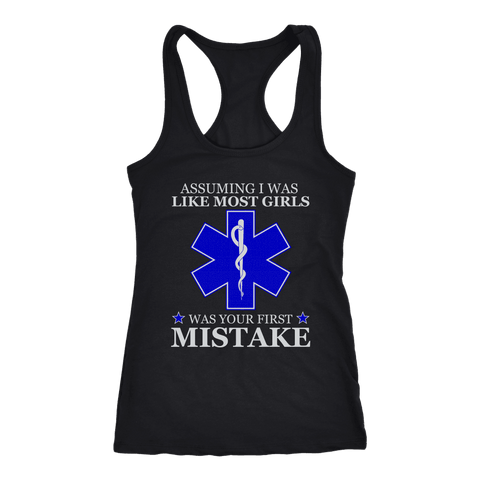 Your First Mistake - Next Level Racerback Tank