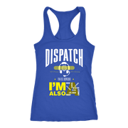 Image of Dispatch - Next Level Racerback Tank