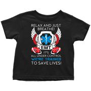 Image of Trained To Save Lives - Soft Toddler T-Shirt