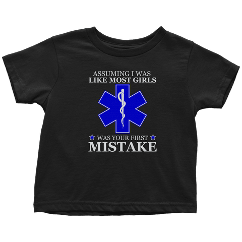Your First Mistake - Soft Toddler T-Shirt