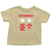 Image of Once The Doors Shut - Soft Toddler T-Shirt