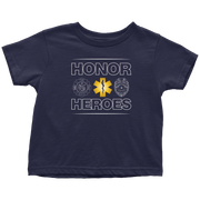 Image of Honor Heroes-EMT - Soft Toddler T-Shirt