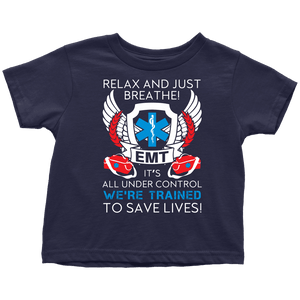 Trained To Save Lives - Soft Toddler T-Shirt