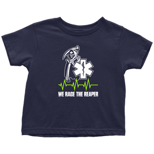 We Race The Reaper-BACK - Soft Toddler T-Shirt