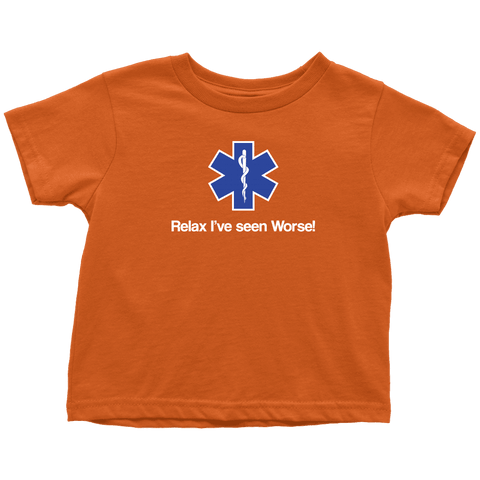 Image of Relax I've Seen Worse - Soft Toddler T-Shirt