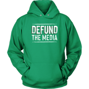Image of Defund The Media Unisex Hoodie