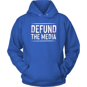 Defund The Media Unisex Hoodie