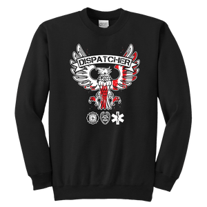Dispatcher - Soft Youth Crewneck Sweatshirt