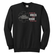 Image of I Do What The Voices On The Radio Tell Me - Soft Youth Crewneck Sweatshirt