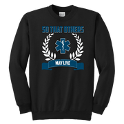 Image of So That Others May Live - Soft Youth Crewneck Sweatshirt