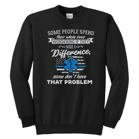 Image of Some People Spend Their Whole Lives - Soft Youth Crewneck Sweatshirt