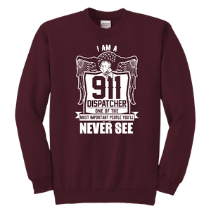 One of the Most Important People You will Never See - Soft Youth Crewneck Sweatshirt