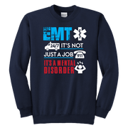 Image of EMT It's not Just A Job - Soft Youth Crewneck Sweatshirt
