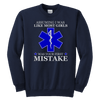 Your First Mistake - Soft Youth Crewneck Sweatshirt