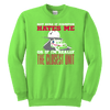 Not Sure Of Dispatch Hates Me - Soft Youth Crewneck Sweatshirt