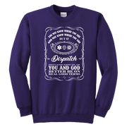 Image of You May Know Where You are Dispatch - Soft Youth Crewneck Sweatshirt