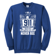Image of One of the Most Important People You will Never See - Soft Youth Crewneck Sweatshirt